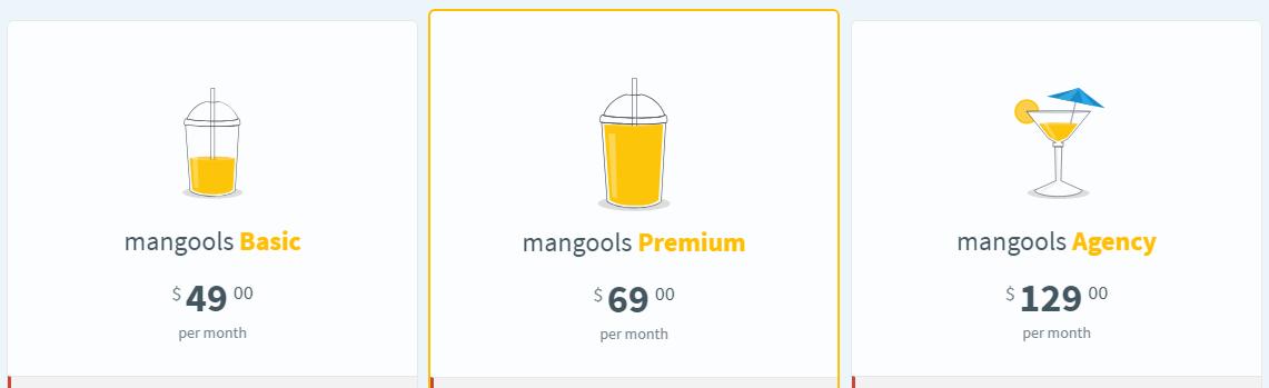 LinkMiner/Mangools Pricing